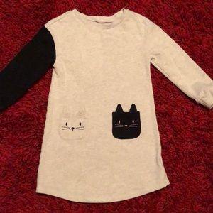 GAP kids kitty dress size 4